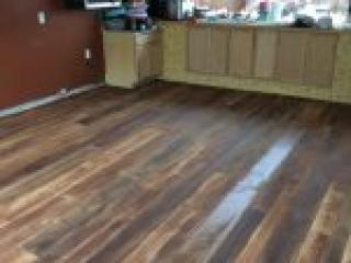 Rustic Wood Concrete Flooring | Chardon Ohio